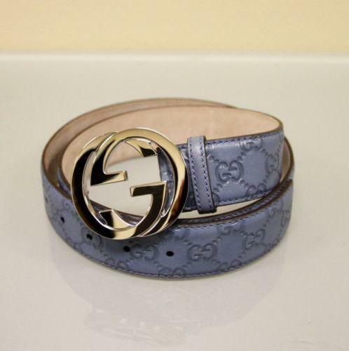 Gucci Belt White And Gold