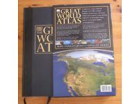 The Great World Atlas Hardcover 2002 By DK Publisher -Very Large and Heavy 6 kgs