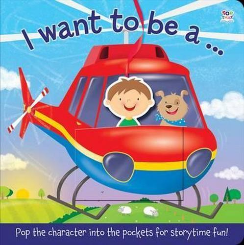 NEW I Want to be A By Nat Lambert Board Book Free Shipping