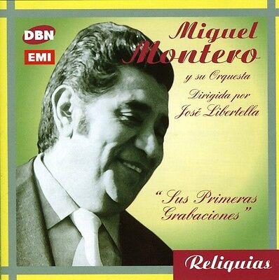 Miguel Montero   Sus Primeras Grabaciones Solista  New Cd  Argentina   Import