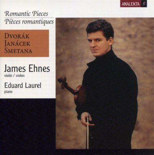 JAMES EHNES / EDUARD LAUREL-ROMANTISCHE STüCKE-CD ANALEKTA NEW