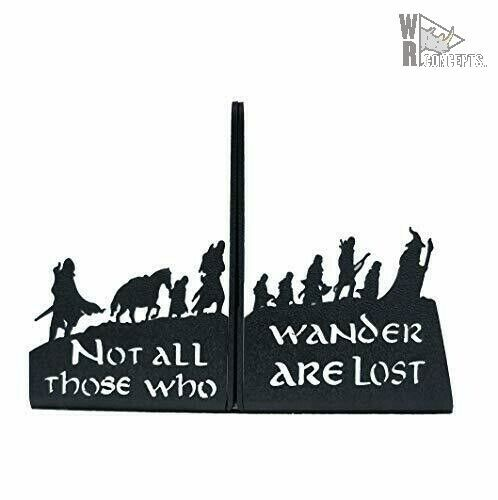 HeavenlyKraft Decorative bookends Metal Bookend Lord Of The Rings Version