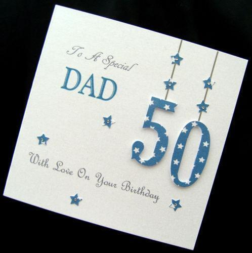80th Birthday Card Dad