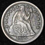 1856 Seated Liberty Dime