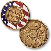 Firefighter Challenge Coin