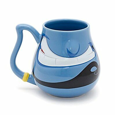 Disney Aladdin Genie Smile Mug Disneyland Coffee Tea Cup exclusive NEW