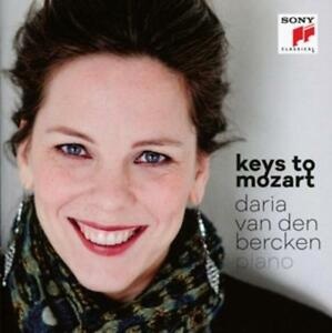 CD keys to mozart  daria van den bercken piano