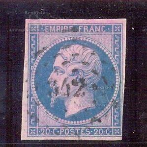 FRANCIA-YT-1853-60-N-14b-USADO