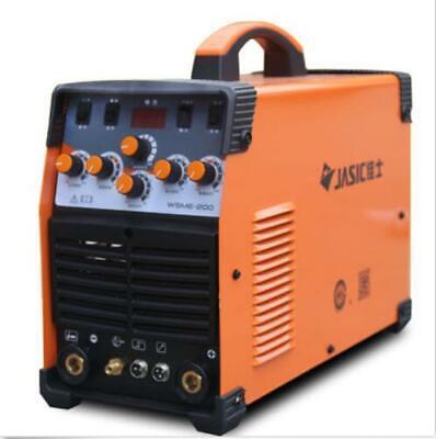 Wsme-200 Tig-200 Ac Dc Pulse Tig Welder Welding Machine Aluminium 220v S