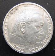 5 Reichsmark 1937