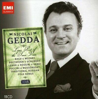 Nicolai Gedda - Icon [New & Sealed] 11 CD Boxset