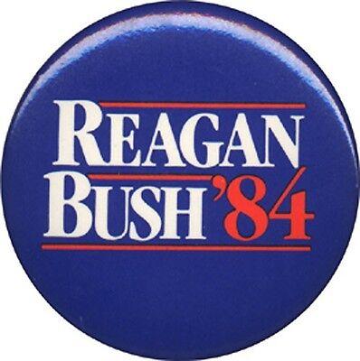 Official 1984 Ronald REAGAN BUSH '84 Campaign Button (3168)