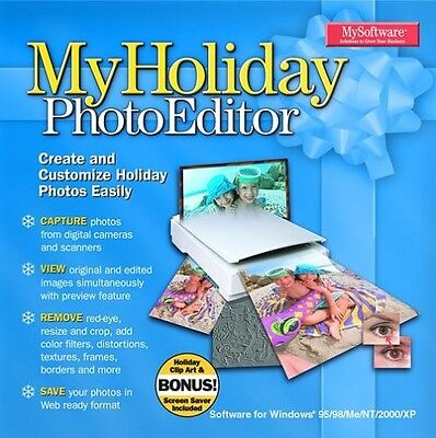 My Holiday Photo Editor  For Windows      Brand New