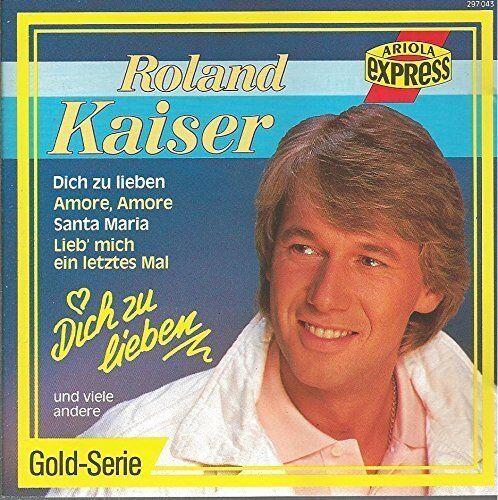 Roland Kaiser Star Festival-Dich zu lieben (compilation, 16 tracks, 1988) [CD]