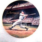 Joe DiMaggio Plate