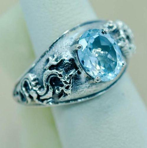 Womens Dragon Ring Ebay