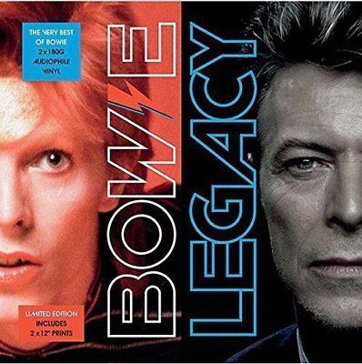 David Bowie - Legacy - The Very Best Of - 2 x 180 Gram Vinyl LP  *New &