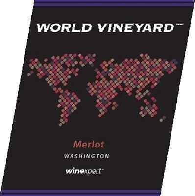 Winexpert World Vineyard Washington Merlot Grape Skin 12l...