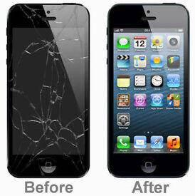 Iphone Screen repairs - 5/5s/c/se - 44£. 6 - 55£. 6+ -75£. 6s- 95