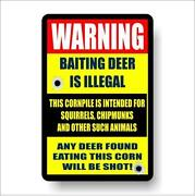 Deer Hunting Signs