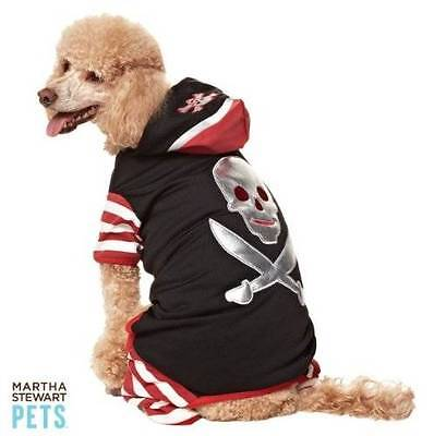 NWT Martha Stewart Pets Pirate Costume for Dogs Dog Size Extra Small Halloween (Pirate Costume For Dogs)
