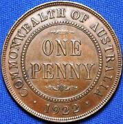 1922 Australian Penny