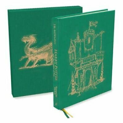 Harry Potter and the Goblet of Fire Deluxe Illustrated Slipcase... 9781526600424
