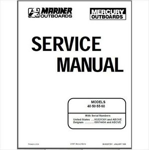 mariner outboard manual ebay mercury 35 hp outboard service manual 1985 mercury 35 hp outboard service manual
