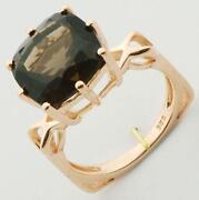 Gold in Quartz Ring