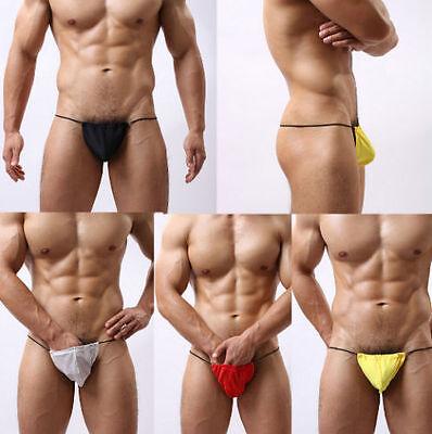 Thong Unterwäsche Pouch Bulge T-back Bikini Herren G-String V-String Briefs best ()