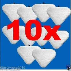 10x white washable Pads Floor Steam Mop Pad String MicroFiber H2O Sydney City Inner Sydney Preview