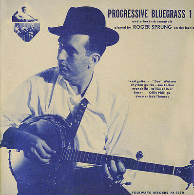 Roger Sprung - Progressive Bluegrass and Other Instrumentals - Vo [New (Progressive Bluegrass Music)