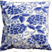 Blue Shabby Chic Cushions