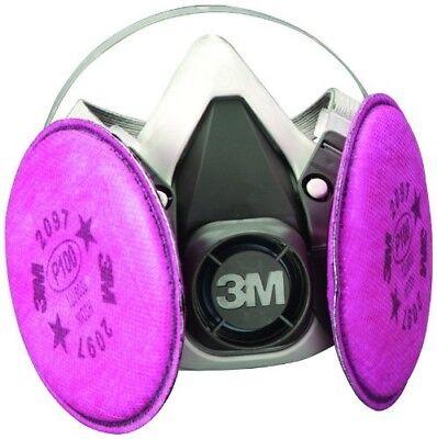 3m 07183 Half Facepiece Respirator Large