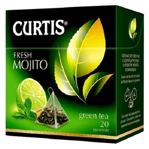 Tee Beutel Curtis Pyramide 20Btl Fresh Mojito