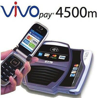 Vivotech Vivopay 4500m Contactless Credit Card Scanner - Verifone Nurit Hypercom