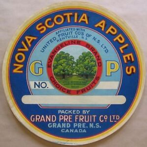 Nova Scotia NS Apple Labels for my collection singles & mutiples