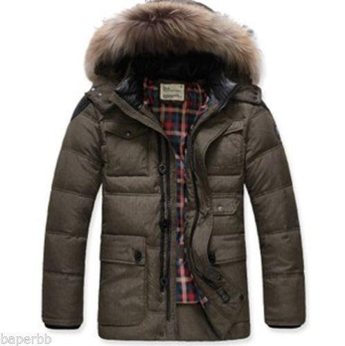 Mens Fur Winter Coats Ebay