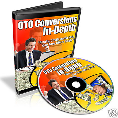 How to Create One Time Offers Tutorials Video on CD