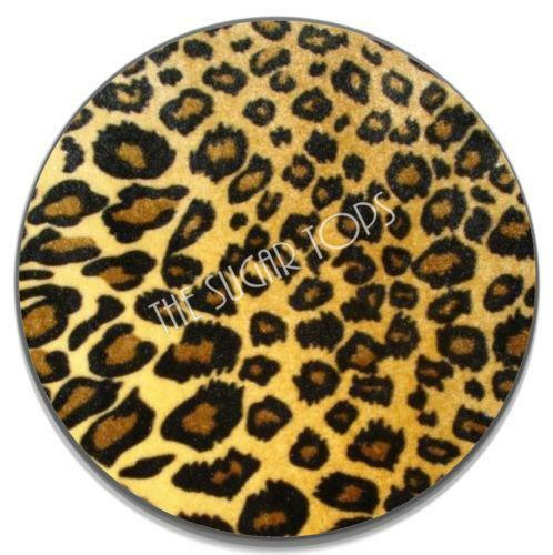 Animal print icing cake decorating ebay for Animal print edible cake decoration