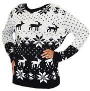 Ladies Reindeer Jumper