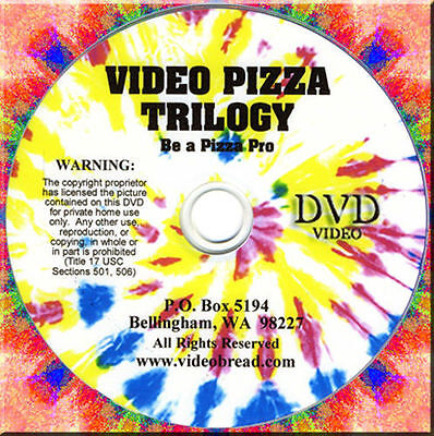 Pizza Cooking Class - 2 Dvd Gift Set - 137 Min Italian Bread Baking Oven Pan
