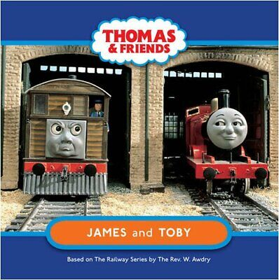 James and Toby (Thomas & Friends) Board book Book The Fast Free Shipping