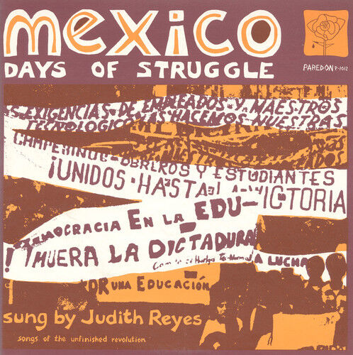 Judith Reyes - Mexico: Days Of Struggle [new Cd]