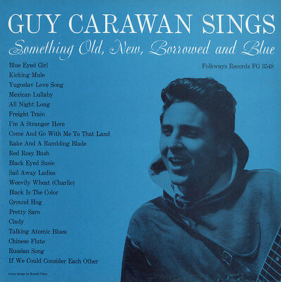 Guy Carawan - Something Old, New, Borrowed and Blue 2 [New CD]