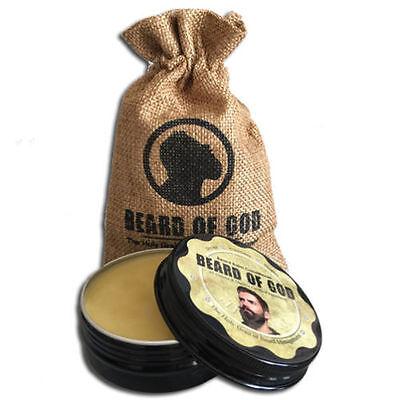 Hemp   Cannabis Sativa 2Oz Beard Balm Conditioner   Sack By Beard Of God  Kosher