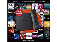 Amazon Fire TV Box 4K Ultra HD - Kodi 16.1 Fully-Loaded Sports, Movies,TV, Adult, Kids