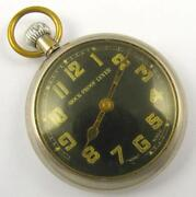 Black Face Pocket Watch
