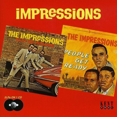 The Impressions - Keep on Pushing / People Get Ready [New CD] UK - Import