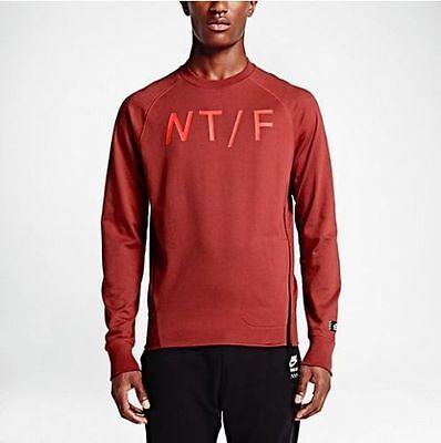 NWT Men's NIKE Track & Field Crewneck Sweatshirt XL 687430 Warmup Sport Casual